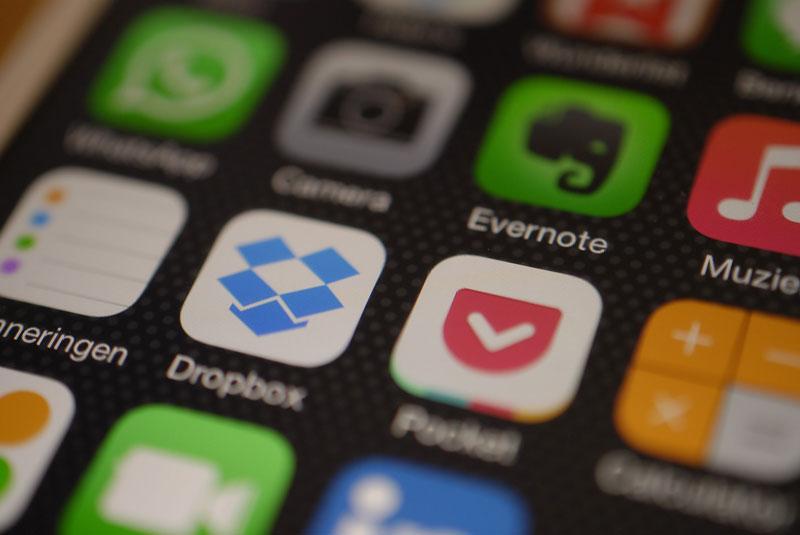 Bouwtool koppelen met Dropbox